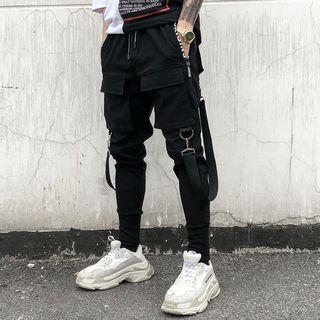 Ferdan - Strapped Sweatpants