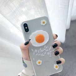 Wild Pony - 3D Egg Phone Case - iPhone 6 / 6 Plus / 6s / 6s Plus / 7 / 7 Plus / 8 / 8 Plus / X / XS / XS Max / XR