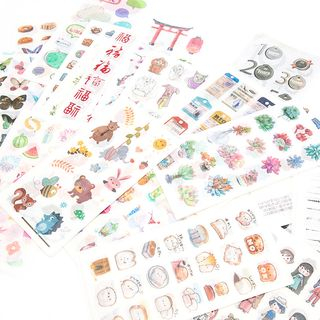 Hegma - Set of 6: Stickers (Various Designs)