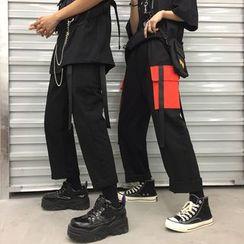 Porstina - Cargo Straight-Cut Pants