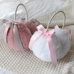 Rega(レガ) - Ribbon Chenille Earmuffs