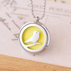 Nisen - Bird Aromatherapy Locket Necklace