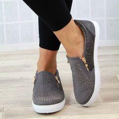 楊董 - 飾拉鏈輕便鞋