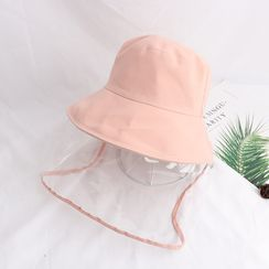 Neverland - Bucket Hat With Face Shield