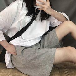 AXEN - 宽腿短裤