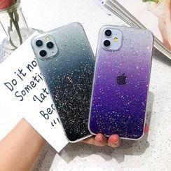 NISI - Glitter Phone Case - iPhone XR, iPhone XS MAX, iPhone X, iPhone 7 / 8, iPhone 7 Plus / 8 Plus, iPhone 6 / 6s, iPhone 6 Plus / 6s Plus, iPhone11, iPhone11 PRO, iPhone11 PRO MAX