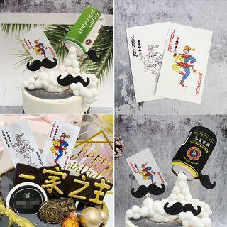 Cakesix - Cake Decoration (various designs)