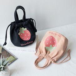 Andrade - Print Drawstring Lunch Box Bag