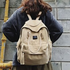 Miss REI - Top Handle Canvas Backpack