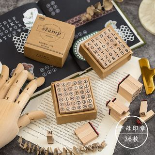 Aether - Set: Wooden Stamp (various designs)