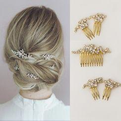 Vivian Design - Wedding Rhinestone Hair Comb