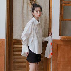 Lady Jean - 纯色衬衫