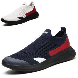 WeWolf - Contrast Trim Athletic Sneakers