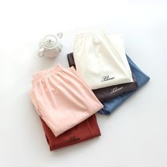 Dogini - Lettering Pajama Pants