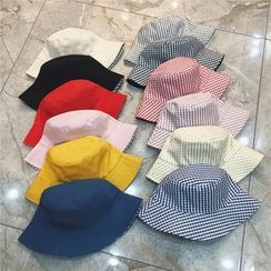 TAAK - Reversible Check Bucket Hat