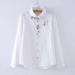 Selva - 刺绣衬衫