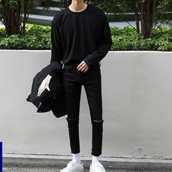 MRCYC - Distressed Skinny Jeans