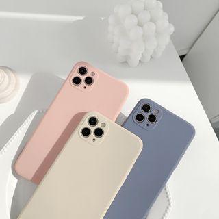 kloudkase - Plain Phone Case - iPhone 12 Pro Max / 12 Pro / 12 / 12 mini / 11 Pro Max / 11 Pro / 11 / SE / XS Max / XS / XR / X / SE 2 / 8 / 8 Plus / 7 / 7 Plus