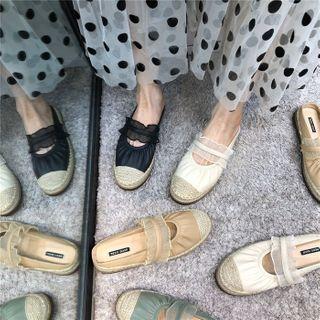 POPOW - 草編織輕便鞋