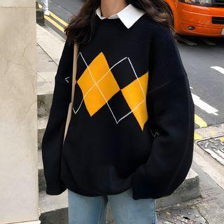 Rorah - 菱格毛衣