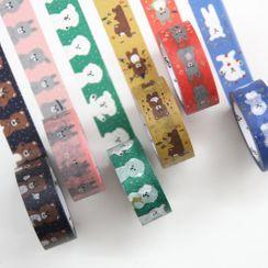 Full House - 动物印花美纹纸胶带