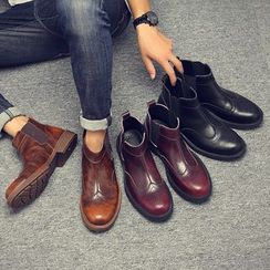 Goldtrench Shoes(ゴールドトレンチシューズ) - Platform Ankle Boots