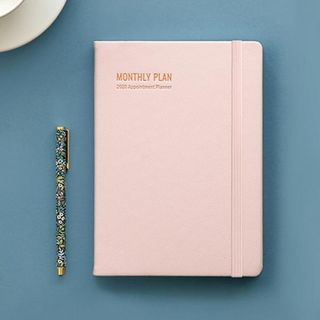 BABOSARANG - 2020 Pleather-Cover Monthly Planner - A5 (M)
