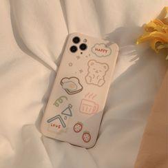 kloudkase - 卡通手機保護套 - iPhone 12 Pro Max / 12 Pro / 12 / 12 mini / 11 Pro Max / 11 Pro / 11 / SE / XS Max / XS / XR / X / SE 2 / 8 / 8 Plus / 7 / 7 Plus