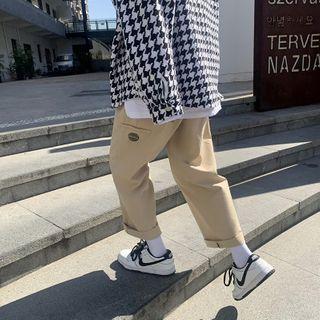 Groove Tower - 直筒工装裤