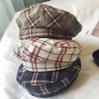 TAAK(ターク) - Plaid Beret Hat
