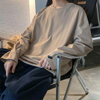 POSI - Long-Sleeve Plain T-Shirt