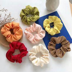 Miss Floral - 纯色布质发圈