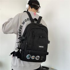 Novila - Mesh Panel Lightweight Backpack