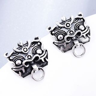 Soosina - Mythical Creature Stainless Steel Dangle Earring