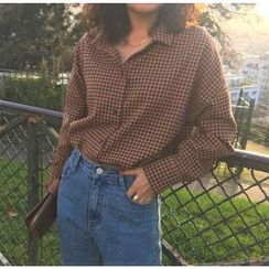 ROSEMARY - 长袖格子衬衫
