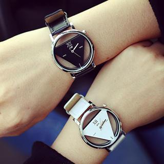 InShop Watches - 三角仿皮帶手錶