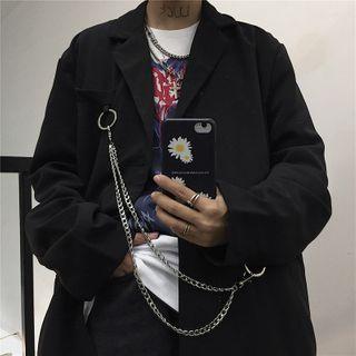 Blackcola - Plain Blazer / Dress Pants