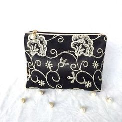TIDBIT - Embroidered Sanitary Pad Pouch
