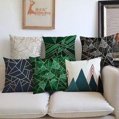 Cozy Cushion - 圖案印花沙發靠墊套