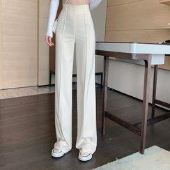 Indiclofie - Wide-Leg Dress Pants