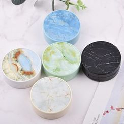 KAZZED - Marble Print Contact Lens Case