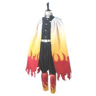 Mikasa - 鬼滅之刃: 炎柱煉獄杏壽郎角色扮演服裝 / 假髮 / 套裝