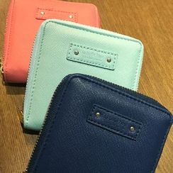 BABOSARANG(バボサラン) - Zipped Mini Wallet