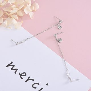 Eucalyse - 925纯银星星耳坠