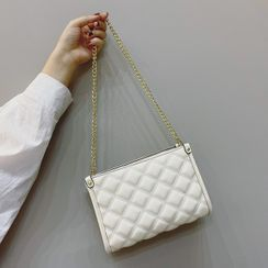Mercillia - Chain Quilted Crossbody Bag