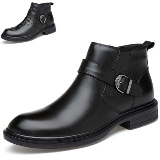 WeWolf - Genuine Leather Buckled Ankle Boots