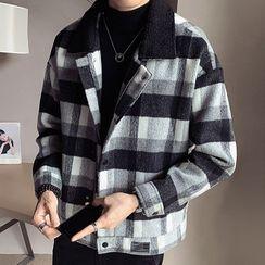 Andrei - Plaid Zipped Jacket