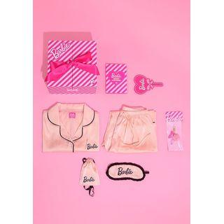 chuu - 'Barbie Room' Gift Box Set : Pajama Shirt / Pants / Eyeshade + Keyring + Mirror