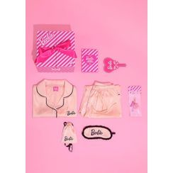chuu - 'Barbie Room' Gift Box Set : Pajama Shirt / Pants / Eyeshade + Keyring + Mirror