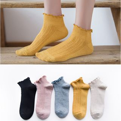 Cloud Femme - Frill Trim Low Socks